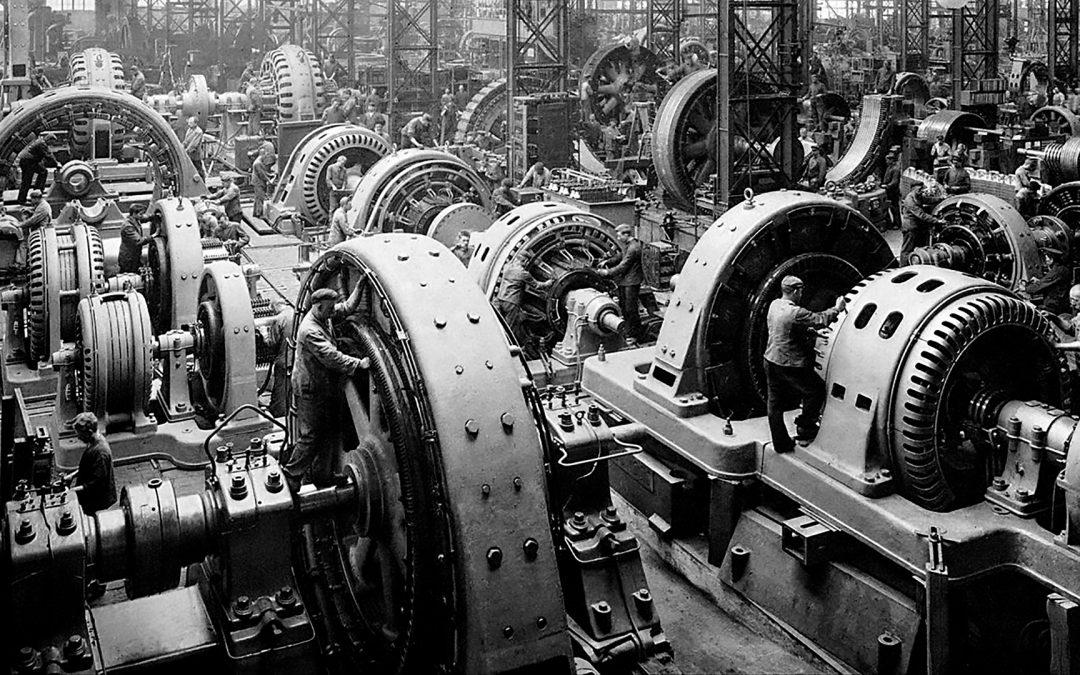 A.E.G Maschinenbau Berlin 1900